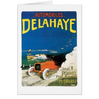 Automobiles Delahaye Cards