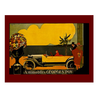 Automobiles Georges Roy - Vintage Ad Post Cards