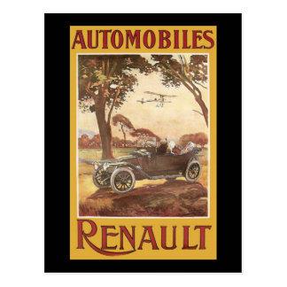 Automobiles Renault Postcard
