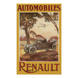 Automobiles Renault Poster