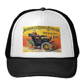 Automobiles Rochet $ Schneider Hats
