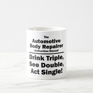 automotive body repairer coffee mug