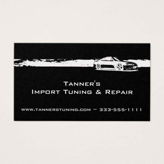 Automotive Business Card