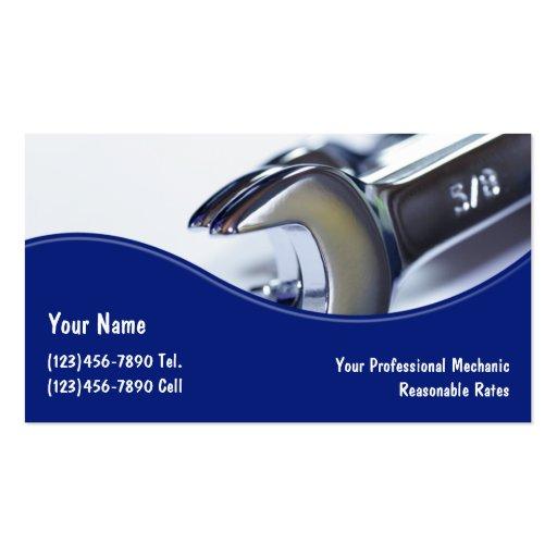 Premium Automotive Business Card Templates