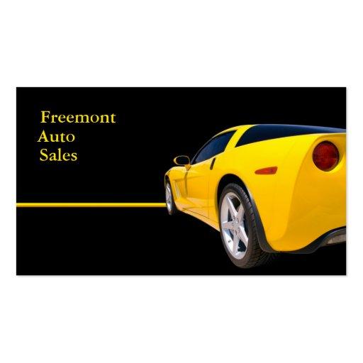 Automotive Dealership Business Card Templates