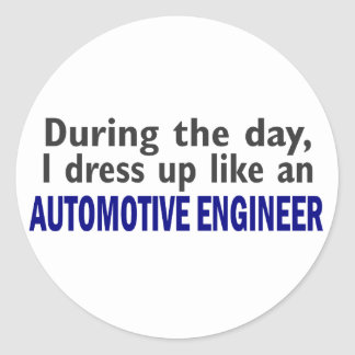 AUTOMOTIVE ENGINEER During The Day Sticker