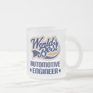 Automotive Engineer Gift Frosted Glass Coffee Mug
