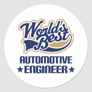 Automotive Engineer Gift Stickers