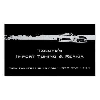 Automotive Pack Of Standard Business Cards
