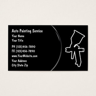 Automotive Painting Business Card