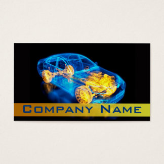 Automotive / Racing / Car Fast Speed Diagnostic Business Card