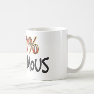 Autonomous 100 Percent Coffee Mug