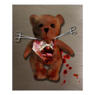 Autopsy of T. Bear Poster