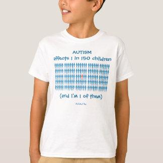 Autsim Affects 1 in 150 Children T-Shirt