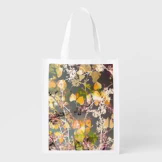 Autum Leaves Reusable Grocery Bag