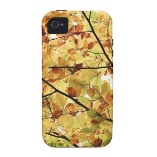 AUTUM LEAVES WALLPAPER VIBE iPhone 4 COVER