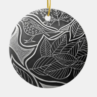 Autum Meeting Christmas Ornament