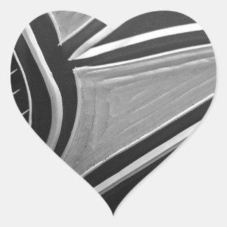 Autum Meeting Heart Sticker