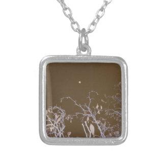 autum moon.jpg square pendant necklace
