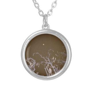 autum moon.jpg round pendant necklace