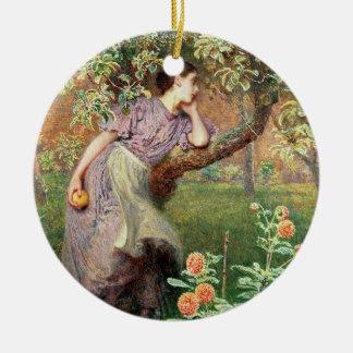 Autumn, 1865 christmas ornament