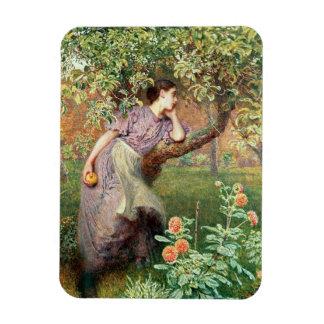 Autumn, 1865 rectangular photo magnet