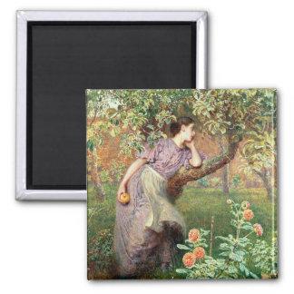 Autumn, 1865 square magnet