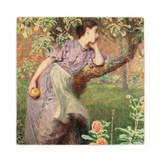 Autumn, 1865 wood coaster