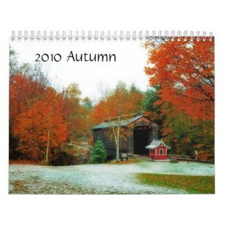 Autumn 2012 calendars