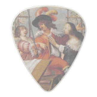 Autumn 2 acetal guitar pick
