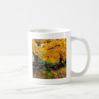 Autumn A Golden Season In New England Coffee Mugs