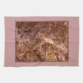 'Autumn Abstract' Kitchen Towel