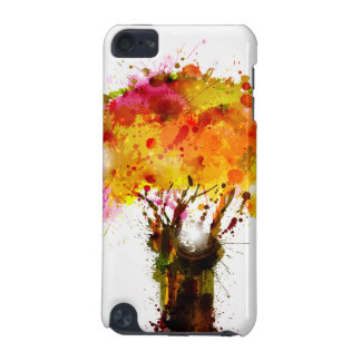 Autumn Abstract Tree Forming By Blots iPod Touch (5th Generation) Covers