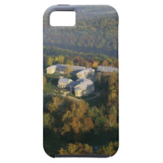 AUTUMN AERIAL OF THE NATIONAL CONSERVATION TRAININ TOUGH iPhone 5 CASE