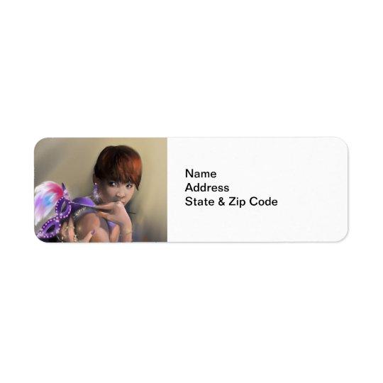 Autumn Allure Return Address Labels
