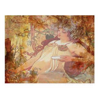 Autumn Angel Post Card
