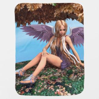 Autumn Angel Pramblankets