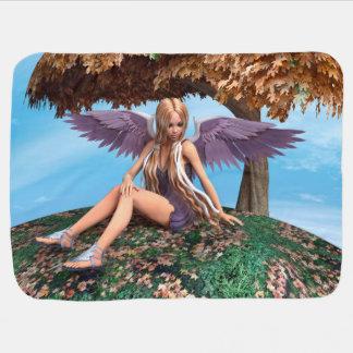 Autumn Angel Receiving Blankets