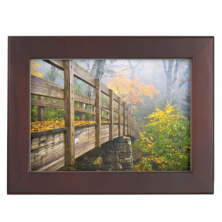 Autumn Appalachian Hiking Trail Keepsake Boxes