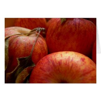 Autumn Apples Card