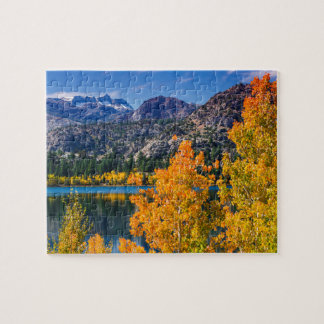 Autumn around June Lake, California Jigsaw Puzzle