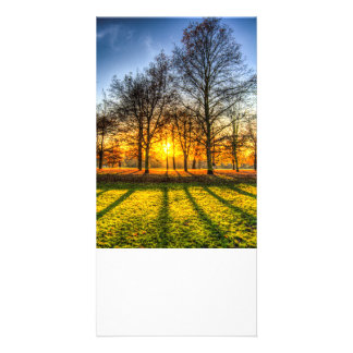 Autumn Arrives Personalised Photo Card