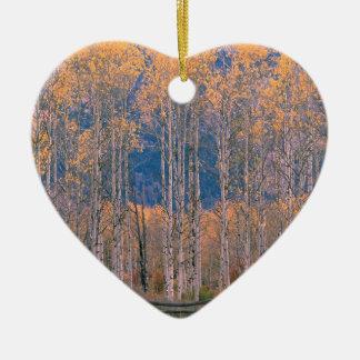 Autumn Aspen Splendor Jackson Hole Wyoming Christmas Tree Ornaments