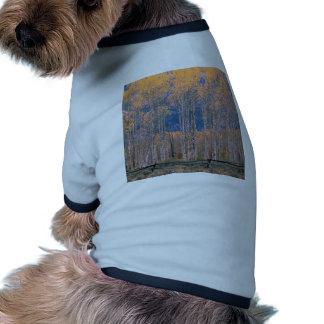 Autumn Aspen Splendor Jackson Hole Wyoming Doggie T-shirt
