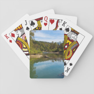 Autumn At Bryant Creek Playing Cards