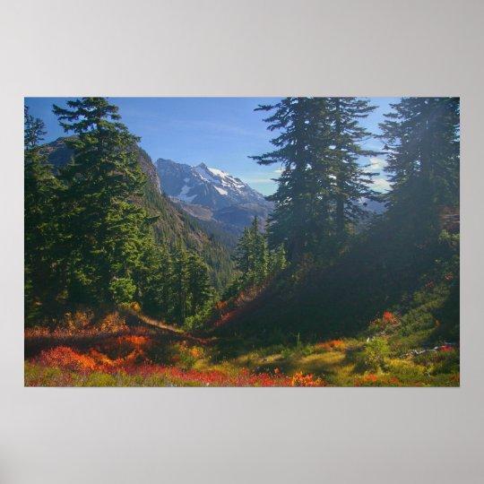 Autumn at Mount Shuksan print