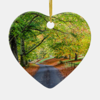 Autumn Avenue Christmas Ornament