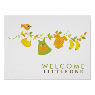 Autumn Baby Shower Sign