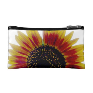 Autumn Beauty Sunflower Sunset Makeup Bag