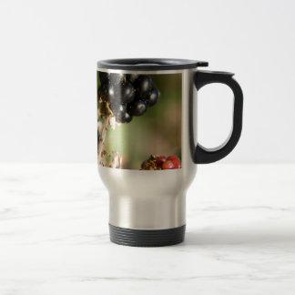 Autumn Berries Stainless Steel Travel Mug
